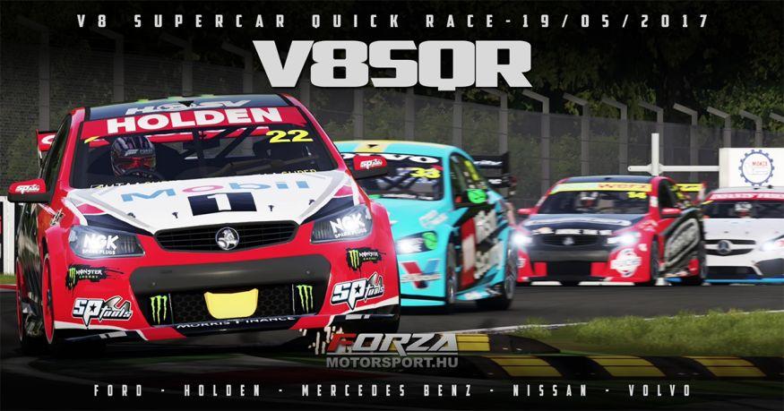 V8 Supercars QR