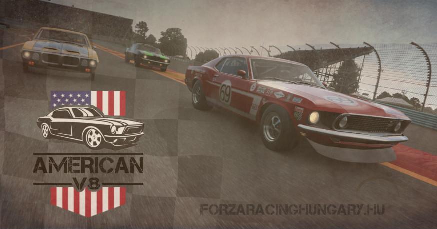 American V8 QR