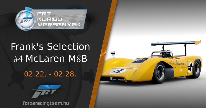 #4 McLaren M8B